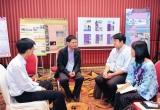 """ภาพงานประชุม จากงานประจำสู่งานวิจัย """"R2R สร้างสรรค์ สู่การเปลี่ยนแปลง""""  23 กรกฎาคม 2558"""